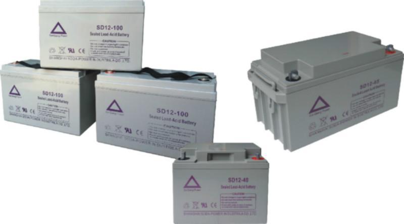 供应上海三强SD铅酸免维护电池