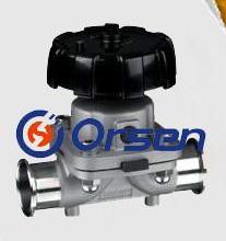 供应进口卫生级隔膜阀材质不锈钢304型号DN15-DN300批发