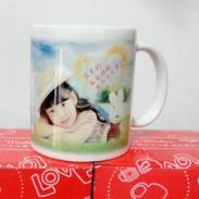 武汉生日回礼婚庆回礼杯定做图片