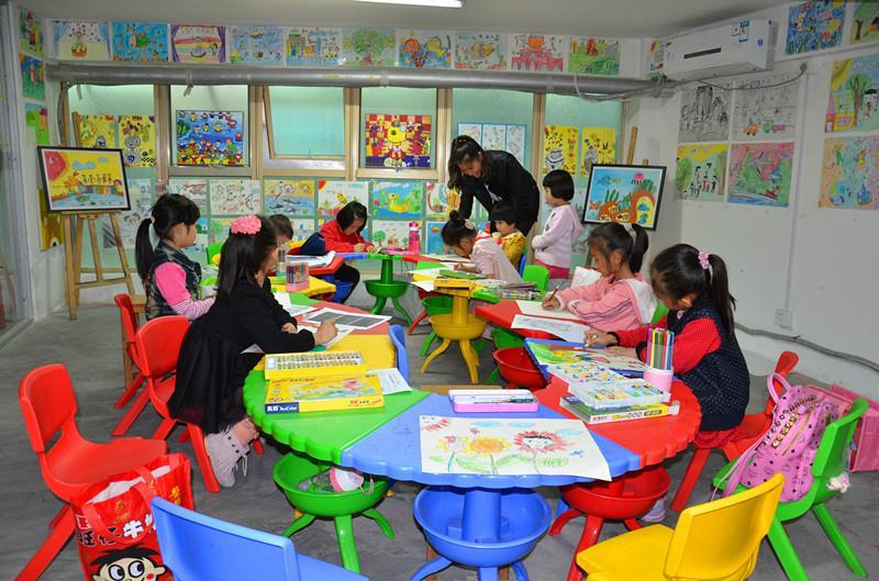 供应少儿美术培训儿童创意绘画画画培训--厦门华正