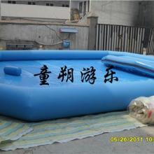 儿童夏日充气泳池--充气沙池价格