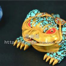 供应礼品陶瓷摆件金蟾
