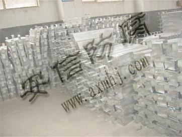 供应储罐用铝合金牺牲阳极图片