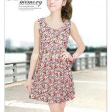 供应厂家直销新款韩版水晶绒连衣裙