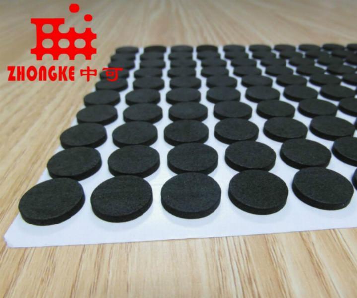 供应四平橡胶垫 键盘橡胶垫,键盘止滑脚垫,键盘不干胶橡胶垫
