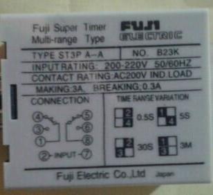 进口ST3PA-A时间继电器价格图片