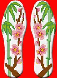 十字绣印花鞋垫DIY手工半成品图片