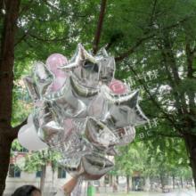 供应五星气球/铝箔五星,飘空气球,小黄人气球批发