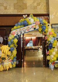 供应气球小黄人/小黄人气球/魔术气球小黄人/长条气球小黄人