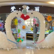 供应情侣天鹅/白天鹅/天鹅拱门/开业装饰布置/珠宝店装饰/气球造型
