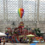 海洋乐园气球装饰/商场气球装饰图片