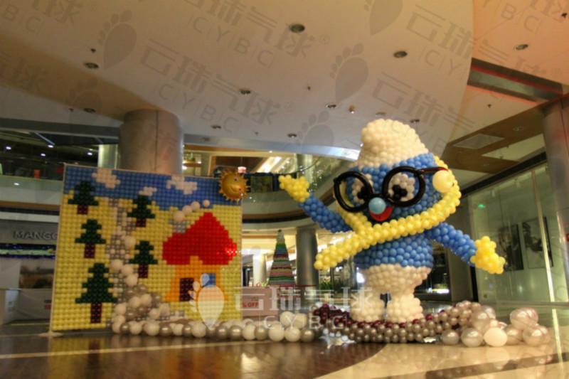 供应圣诞节气球装饰/成都气球装饰/大型气球装饰活动/气球装饰布置