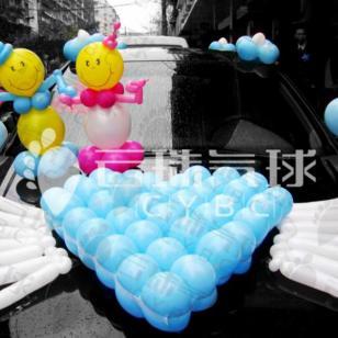 2.14情人节气球/情人节气球装饰图片