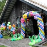 供应森林系宝宝宴向日葵气球