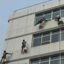 供应青岛市北外墙清洗公司高空作业清洗 专业玻璃幕墙清洗