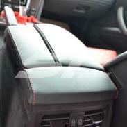 宝马5系内饰改装座椅改装改色图片