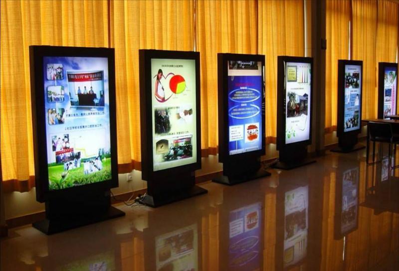 供应深圳led落地式超薄灯箱铝框灯箱图片