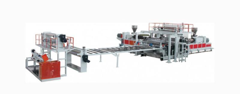 金韦尔PVC/HDPE防水卷材挤出生产线