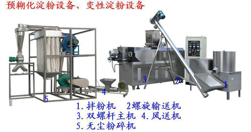 供应膨化机械淀粉加工机械