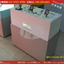 供应好掌柜手机制品,HTC精品展示柜,电信手机柜图片