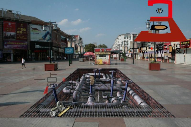 街头3d立体画图片|街头3d立体画样板图|街头3d立体画