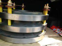 供应用于电机配件的JR高压电机滑环钢环异型订做批发图片