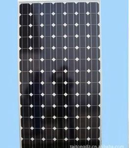 太阳能光电板100W图片