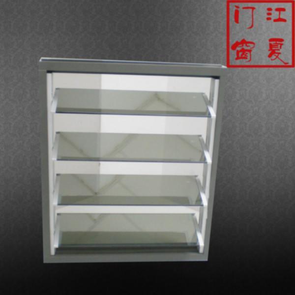 供应手动玻璃百叶窗热线电话图片