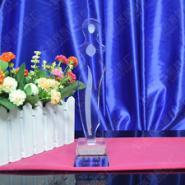 世界小姐选美比赛奖杯定制刻字纪念图片