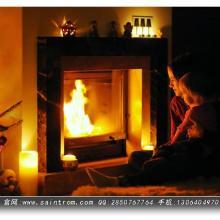 供应成都圣罗曼真火壁炉 成都进口别墅壁炉图片