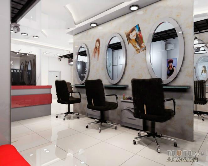 供应理发店的装修设计 美容院,发型屋图片大全图片