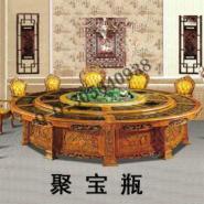 欧式电动餐桌图片