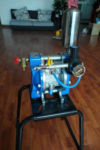 供应泵浦fx-h-408气动双隔膜泵油漆图片