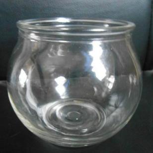 玻璃小金鱼缸图片