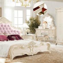欧式卧室家具 象牙白 烤漆 法式衣柜