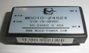 供应24转24V10W电源DC-DC12转24V模块