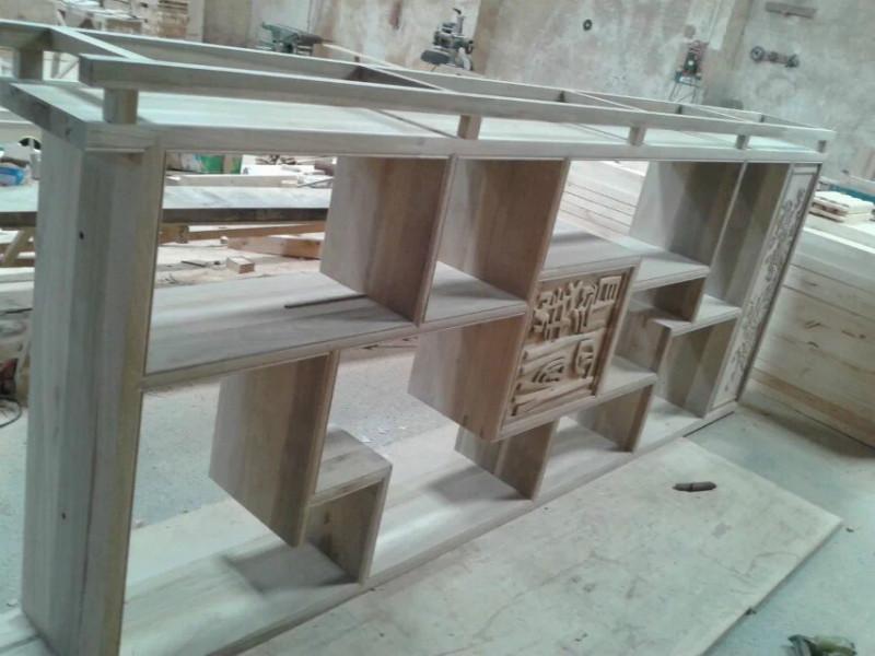 成都楠木博古架  实木展柜 中式楠木家具  成都博古架  实木展柜 中式楠木