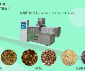 供应宠物饲料膨化机械图片