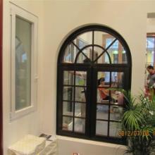 供应铝木阳光房铝包木门窗价格合理图片