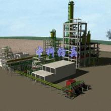 供应氯碱生产工艺流程模型