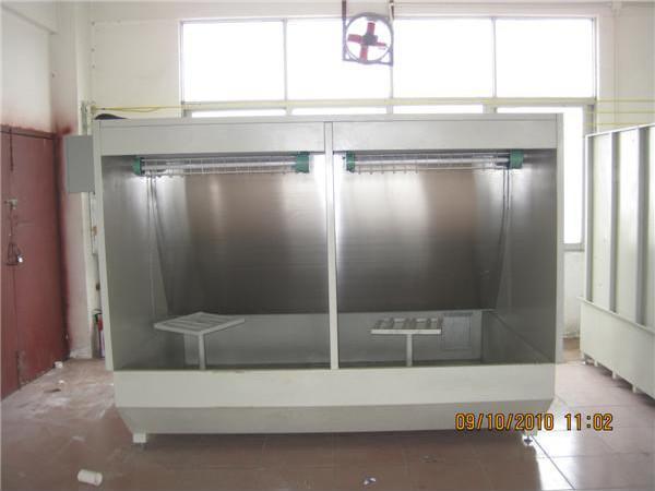 供应中山水帘柜图片