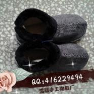 手工棉拖鞋图片
