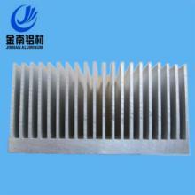 供应铝合金散热器 散热器铝型材 黑色氧化铝合金散热器