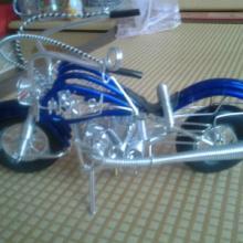 供应手工铝线小号摩托车