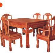 象头餐桌七件套图片