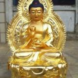 供应如来佛大型铸铜释迦摩尼厂家铸铜.释迦摩尼铜雕定制