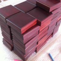 供应纪念币木盒包装