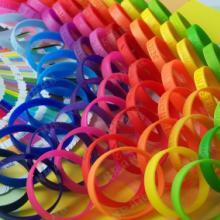供应创意 硅胶手环定制 运动手腕带 空白手环 儿童手环 大人 成人