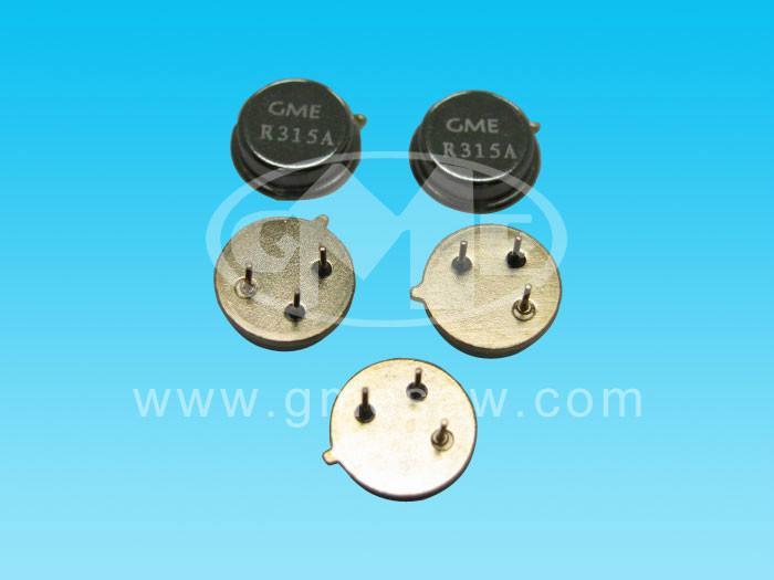 供应无锡声表谐振器,433/315插件贴片