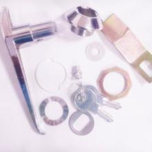 供应MS304执手锁配电箱锁电柜锁插芯锁 带匙锁 动力柜锁批发